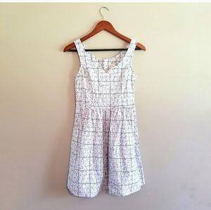 Modcloth Sudoku Fervour Sleeveless Dress 277